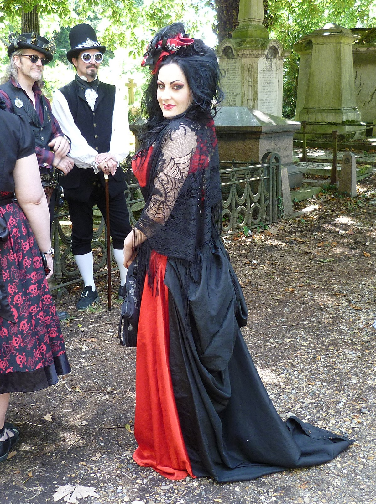 113aa18d07 Gothic fashion - Wikipedia
