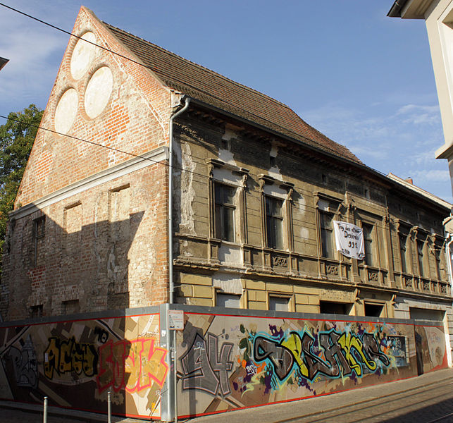 File:Gotisches Haus (Brandenburg an der Havel) traufe.jpg