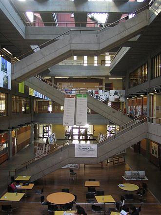 University of Washington College of Built Environments - Atrium of Gould Hall