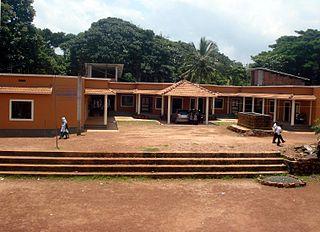 Chelora town in Kerala, India