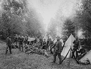 1905 in Norway - Image: Grænsevagten no nb digifoto 20160115 00025 NB NS 000085
