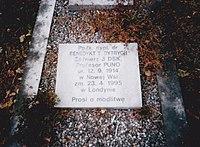 Grób ppłk Benedykta Teodora Dytrycha w Londynie.jpg