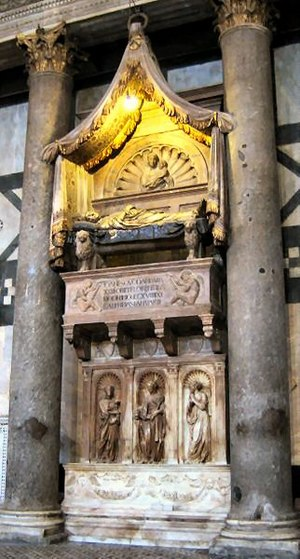 Tomb of Antipope John XXIII - Tomb of Antipope John XXIII