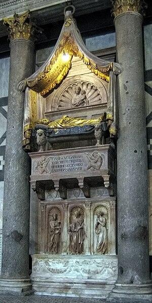 Antipope John XXIII - Tomb of Antipope John XXIII.