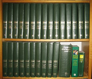 Gran Enciclopèdia Catalana - The Great Catalan Encyclopedia volumes, the Catalan Language Dictionary and the Multilingual Dictionary