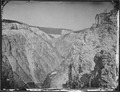 Grand Canyon of the Yellowstone, from the east side, one mile below the falls, looking down. - NARA - 516697.tif
