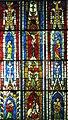 Grande verrière avec Calvaire, Saint-Pierre, Saint-Maurice et la Vierge à l'Enfant Ancienne église Saint-Maurice de Mutzig, Bas-Rhin Vers 1300-1310.jpg