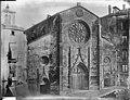 Grands travaux d'urbanisme du Second Empire ; place des Cordeliers et église Saint-Bonaventure pendant les travaux.jpg
