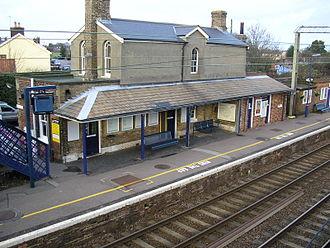 Great Bentley - Great Bentley railway station