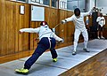 Greek Epee Fencers. Evening training with guests from other clubs at Athenaikos Fencing Club.jpg