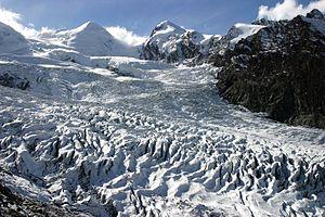 Gorner Glacier - Image: Grenzgletscher