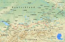 deutschland österreich grenze karte Grenze zwischen Deutschland und Österreich – Wikipedia
