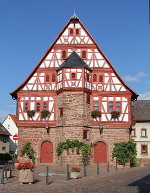 Großheubach - Historic town hall of Großheubach