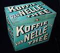 Groot blauw vanNelles koffie-thee blik, foto 5.JPG