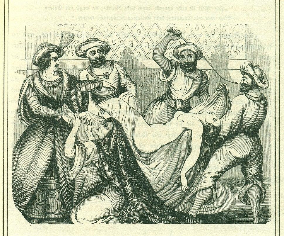 Gross F, 72. Nacht, 1001 Nacht, Bd 1, 1838