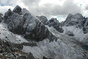 Gailtal Alps - Image: Grosse Sandspitze 1