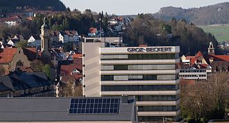 Swabian Jura - Groz-Beckert in Ebingen, world leader in needles for textile machines