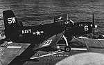Grumman AF-2S Guardian of VS-30 aboard USS Block Island (CVE-106), in 1953.jpg