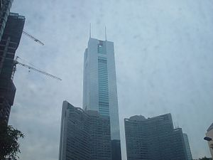 CITIC Plaza - Image: Guangzhou citic plaza 2