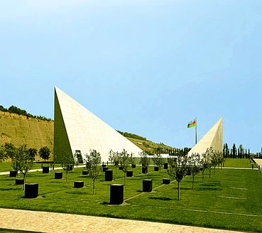 Guba Genocide Memorial panoramic view.jpg