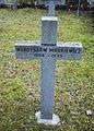GuentherZ 2013-01-12 0396 Wien11 Zentralfriedhof Gruppe88 Soldatenfriedhof polnisch WK2 Grabkreuz Wladislaw Markiewicz.JPG