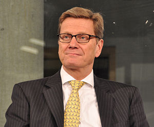 guido westerwelle vice chancellor of germany from 2009 2011