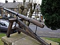 Gun by Townhall, Bellingham - geograph.org.uk - 1143304.jpg