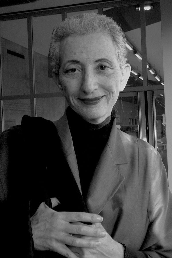 Photo Hélène Cixous via Wikidata