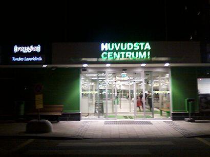 Vägbeskrivningar till Huvudsta Centrum med kollektivtrafik