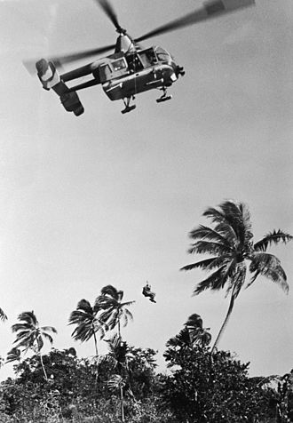 38th Rescue Squadron - Image: HH 43B Huskie Cam Ranh Bay 3