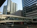 HK 觀塘道 388 Kwun Tong Road covered footbridge April 2013 view 創紀之城1期 Millennium City 1 SCBank Tower.JPG