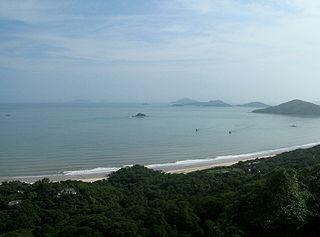 Cheung Sha Area of Lantau Island, Hong Kong