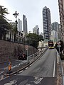 HK ML 西半山 Mid-Levels West 般咸道 Bonham Road 8th January 2021 SS2 Pokfulam Road flyover 01.jpg
