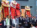 HK Sunday Sheung Wan Morrison Street Wing Lok Street Lion Dance 1.JPG
