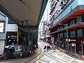 HK tram tour view CWB 銅鑼灣 Causeway Bay 軒尼詩道 Hennessy Road footbridge July 2019 SSG 03.jpg