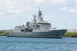 HMAS Stuart (FFH 153) im Jahr 2006