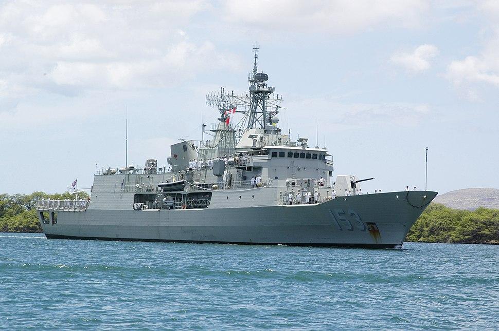HMAS Stuart FFH 153
