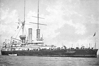 HMS <i>Sans Pareil</i> (1887) Victoria-class battleship