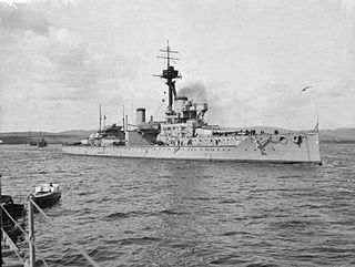 1910 Colossus-class battleship of the Royal Navy
