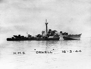 HMS Orwell (G98) - HMS Orwell
