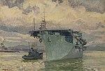 HMS Pursuer in Belfast Lough by Stephen Bone NMM NMMG BHC3568.jpg