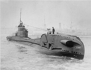 British T-class submarine - Image: HMS Thorn