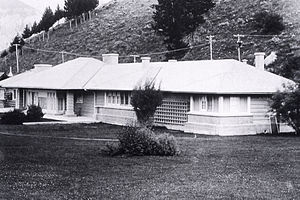 Robert Reamer - H.W. Child Residence, Mammoth Hot Springs in 1917