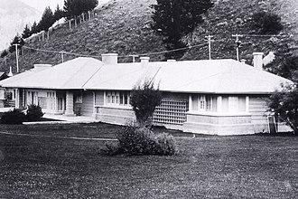 Robert Reamer - H.W. Child Residence, Mammoth Hot Springs in 1917