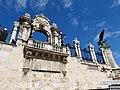 Habsburg Gate and Turul from Savoyai terrace, 2013 Budapest (180) (13228790425).jpg