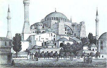 ΑΓΙΑ ΣΟΦΙΑ 350px-Hagia_Sophia_1877