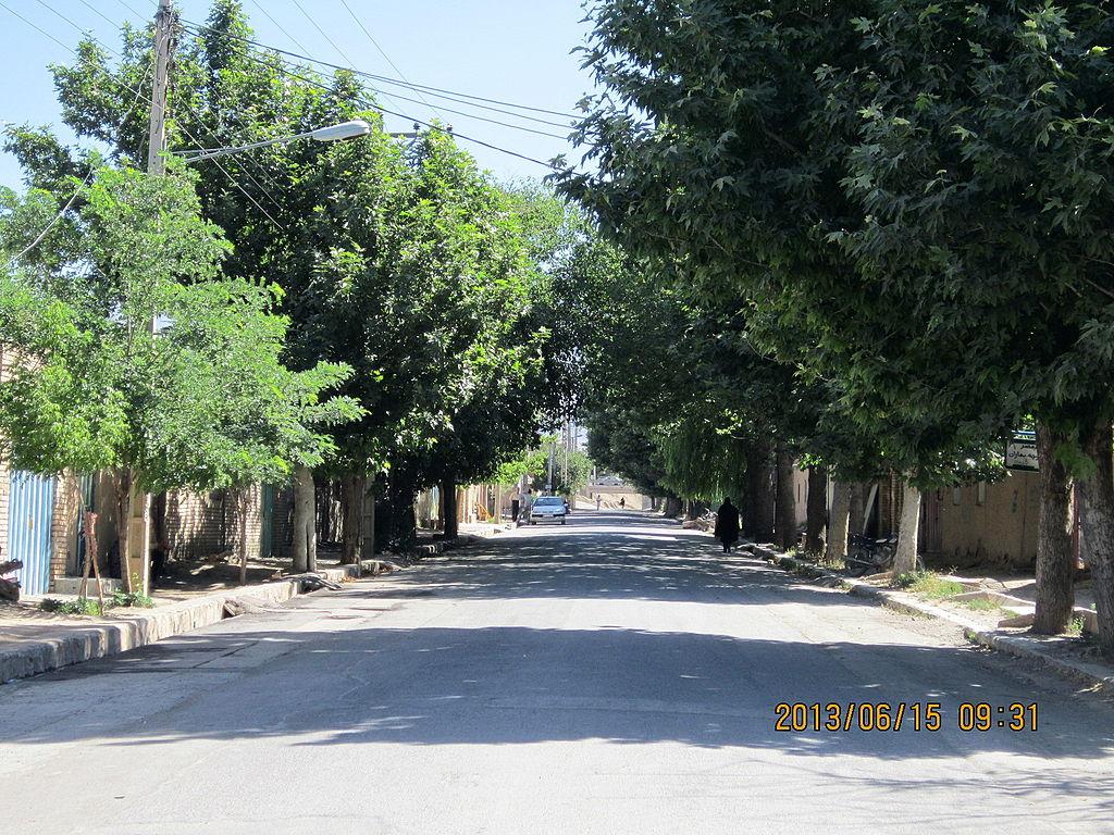 پرونده:Hajjiabad, Zeberkhan, Nishapur - streets & alleys 4 ...