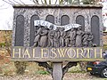 Halesworth Town Sign - geograph.org.uk - 1188843.jpg