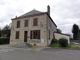 The town hall in Ham-les-Moines