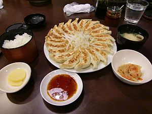 Huaiyang cuisine - Image: Hamamatsugyoza